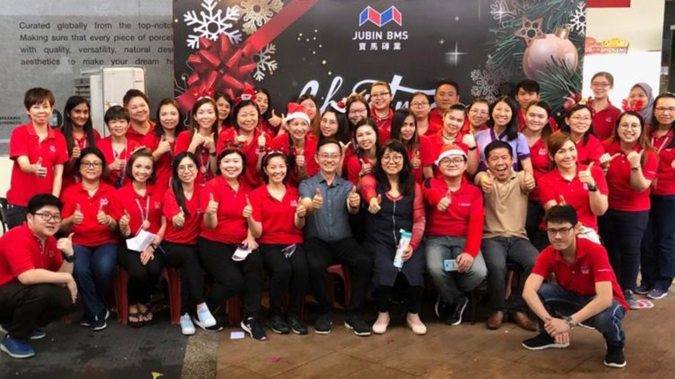 Jubin BMS Christmas Party(16 DEC 2018)
