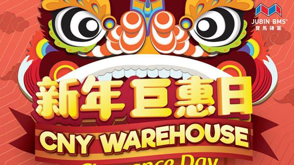 CNY Warehouse Clearance Day (20 Jan 2019)