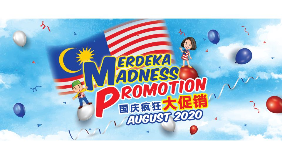 Merdeka Madness Promotion