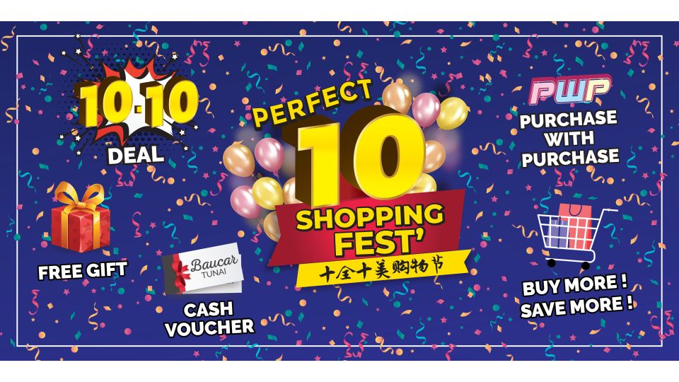 Perfect 10 shopping Fest
