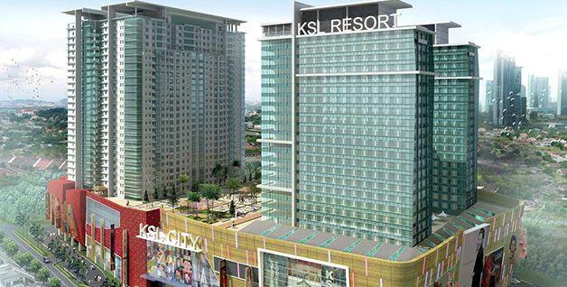 KSL City Mall , Johor